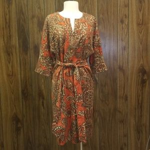 Funky linen dress